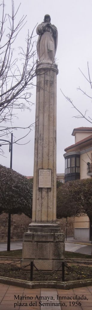 Marino Amaya, Inmac_ plaza del Sem, picassa