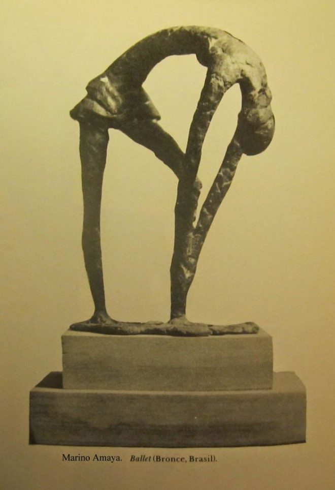 Marino Amaya ballet, picassa