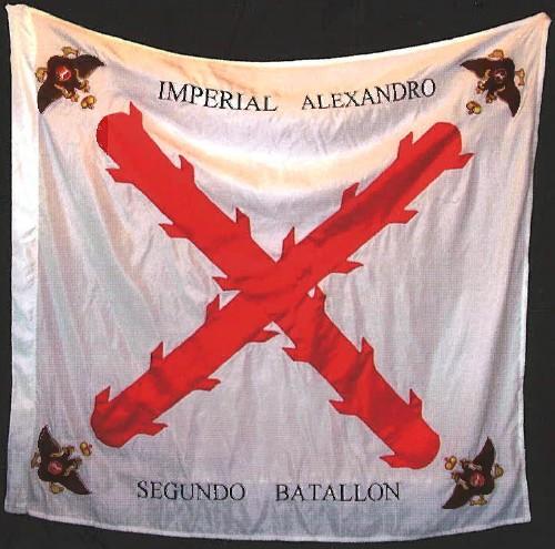 bandera regimiento hispanoruso