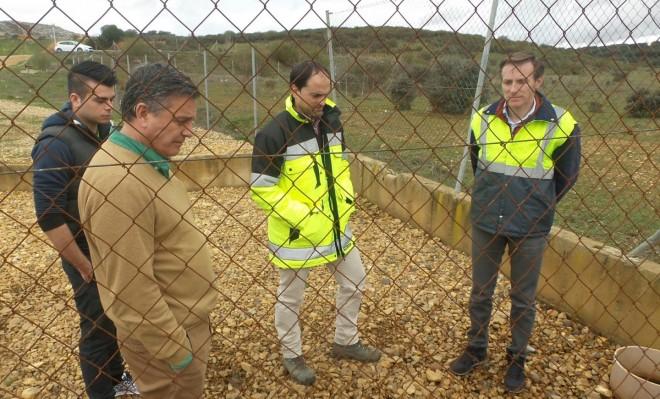 El gerente de Gersul, Secundino Prieto, segundo a la izquierda (S. G.)